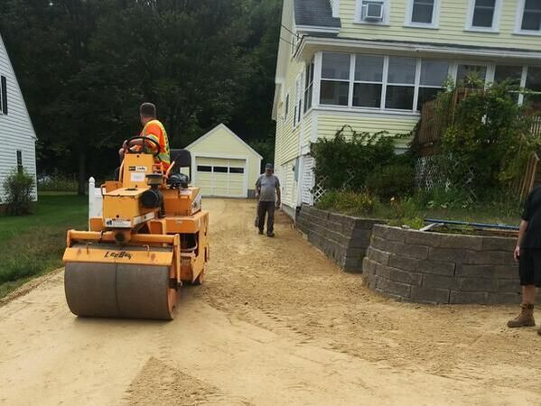 driveway paving rochester nh